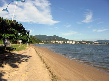 Cacupé Beach in Florianopolis