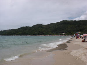 Daniela Beach in Florianopolis