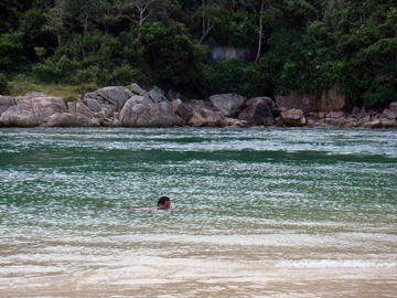 Guarda do Embaú Beach in Florianópolis
