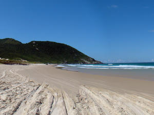 Moçambique Beach in Florianopolis