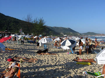 Mole Beach in Florianopolis